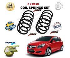para Opel Corsa D 1.0 1.2 1.4 1.3 1.7 2006- > NUEVO 2x Trasero MUELLES