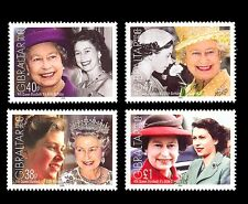 Queen Elizabeth 80th Birthday 2 pair se-tenant mnh stamps 2006 Gibraltar #1038