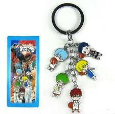 Kuroko no Basket Basuke Aomine Tetsuya Rise anime Cluster Keychain Key Rings