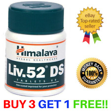 HimalayaLiv.52 DS Live Care Herbal Detoxifier Natural | 60 Tablets