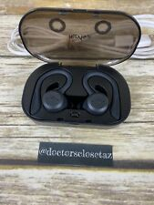Holy High Bluetooth Headphones Around Ear With Charger Case Black TESTED GOOD