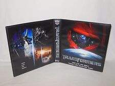 Custom Made Transformers Movie Trading Card Binder Graphics Only