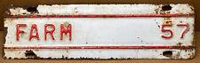 1957 Kansas License Plate Tag  Farm Add-on