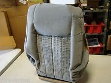 OEM Chevrolet Chevy Venture APV Seat Back Cover Grey Manual NOS Genuine