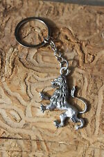 Hastings Pewter Lead Free Pewter Lion Keychain Unique Gift wild animal cat - NEW