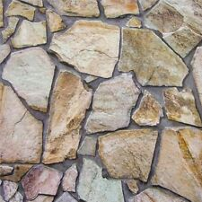 REALISTIC CRAZY PAVING STONE WALL BRICK FEATURE WALLPAPER A.S.CREATION 9273-16