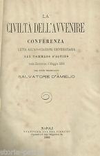 NAPOLI_ASSOCIAZIONE UNIVERSITARIA S. TOMMASO D'AQUINO_CONFERENZA D'AMELIO_1885