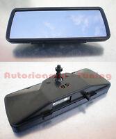 Specchietto Retrovisore Completo Interno in Plastica Nera per FIAT 500 D F L R