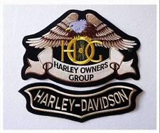 small Eagle Patch Harley Davidson Owners Group HOG H.O.G. toppa VEST JACKET H-D