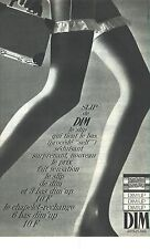 PUBLICITE 1967   DIM   bas & collants le slip dim-up