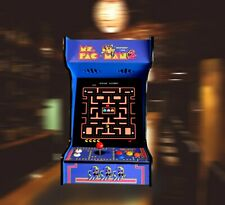 Arcade Machine with 412 Classic Games Ms Pacman Mancave Sheshed