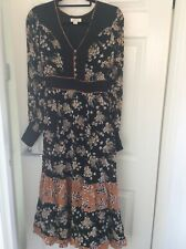 Monsoon Size 12 Ladies Fully Lined Dress Excellent Condition