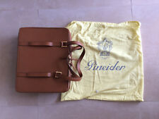 Borsa 24 Ore Porta Pc PINEIDER in Pelle Caramello Travel Bag