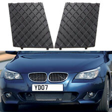 New Pair Front Bumper Cover Lower Mesh Grill Trim For BMW E60 E61 M Sport Grille