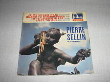 PIERRE SELLIN EP FRANCE CHARLES AZNAVOUR