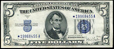 Fr. 1654 1934-D $5 Five Dollars *Star* Silver Certificate Uncirculated