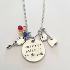 "Snow White Necklace ""Mirror Mirror On the wall"" Disney Inspired Apple Princess"