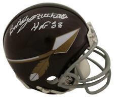 Bobby Mitchell Autographed/Signed Washington Redskins Mini Helmet Hof Bas 23846