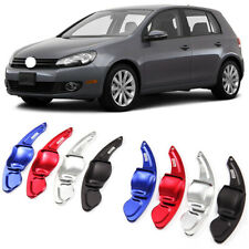 Alloy Steering Wheel DSG Paddle Extension Shifters Cover Fit For VW Golf 6 09-14