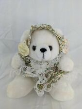 """Ganz Daisy Bear Plush 7"""" Flower Outfit Heritage Collection Stuffed Animal Toy"""