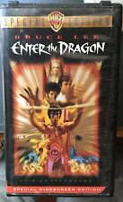 Enter the Dragon (VHS, Widescreen; 25th anniversary edition) Bruce Lee - Extras!