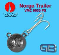 Norge Trailer 50g - 280g, Kugelblei mit VMC Drilling 9650 PS, Jigkopf Rundkopf