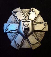 Battletech Ghost Bear  badge pin