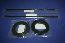 PORSCHE 964 CARRERA SILL COVER SEAL KIT 4 PIECES R+L OEM NEW