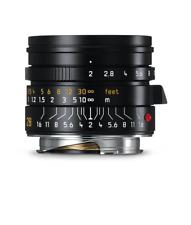 Leica SUMMICRON 1:2/28mm Asferico Nero Anodizzato (Nuovo) 11672