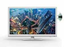 """22"""" Inch Full HD 1080p Digital Freeview LED TV DVD Player Combi USB Media SILVER"""