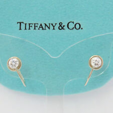 NYJEWEL Tiffany & Co. 14k Solid Gold 0.7ct Diamond Screw On Earring