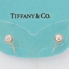 NYJEWEL Tiffany & Co. 14k Solid Gold 0.7ct Diamond Screw On Earring