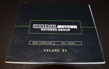 Rare Universal Motown A&R Sampler May 2004 Volume 34 Promo CD