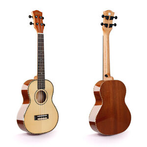 FULL SOLID SPRUCE/MAPLE TENOR (26'') UKULE WITH BAG