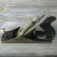 Vintage Wards Master No. 4 Wood Plane Carpentry Tool Woodworking Collectible USA