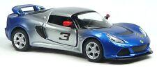 2012 Lotus Exige S Sportwagen Sammlermodell blau/silber ca.1:32 Neuware KINSMART