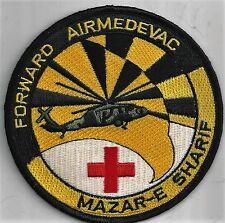 US ARMY MAZAR-E SHARIF PATCH           'FORWARD AIRMEDEVAC'           FULL COLOR