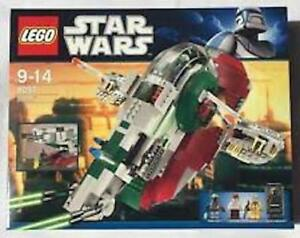 LEGO Star Wars Boba Fett's Slave I (6209) 100% Complete w/ instructions and figs