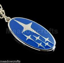 Subaru Key Ring NEW Impreza BRZ Outback Legacy XV Forester Chain Keyring