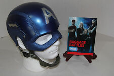 "Captain America Helmet AS SEEN ON ""Baggage Battles"" The Avengers Movie Replica"