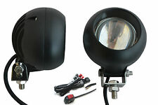 Super Bright 40W LED Spotlights & Wiring Kit for Adventure Touring Motorbikes