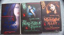 Morganville Vampires Rachel Caine 3 Bks Glass Houses Dead Girls' Dance Midnight