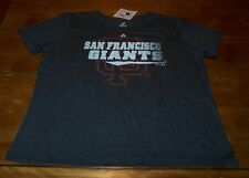 VINTAGE WOMEN'S TEEN SAN FRANCISCO GIANTS MLB BASEBALL T-shirt 2XL XXL NEW TAG