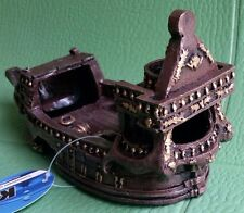 [New] K&A Imports Extra Galleon  Aquarium ornament Decoration