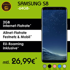 Samsung Galaxy S8 im Mobilcom Vodafone Handyvertrag inkl. 2GB | NUR 26,99€ mtl.*