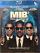 Men in Black 3 (Blu-ray/DVD, 2012, 2-Disc) NEW SEALED