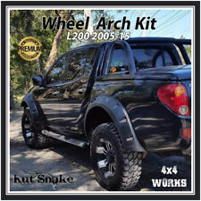 Kut Snake Wheel Arches Fender Flares Mitsubishi L200 & Triton ML MN (2005-15)