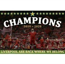 Liverpool Champions Flag. 2020 Winners. 19 Stars. New. Giant Flag.