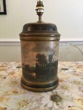 Vintage Barrel Style Table Lamp
