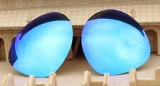 ACOMPATIBLE Lenses Replacement Polarized for-Oakley Plaintiff OO4057 Blue Mirror